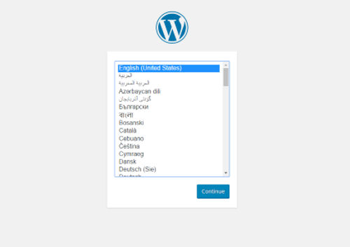 wordpress-setup-language