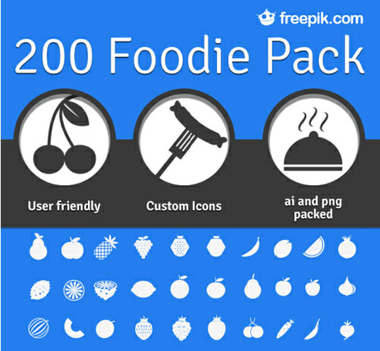 foodie pack ikon free download
