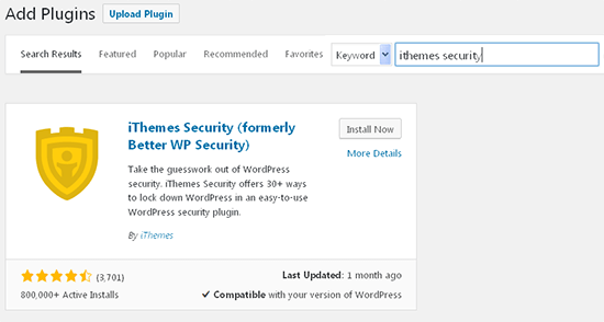 install-ithemes-security