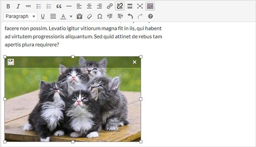 live image editing in post