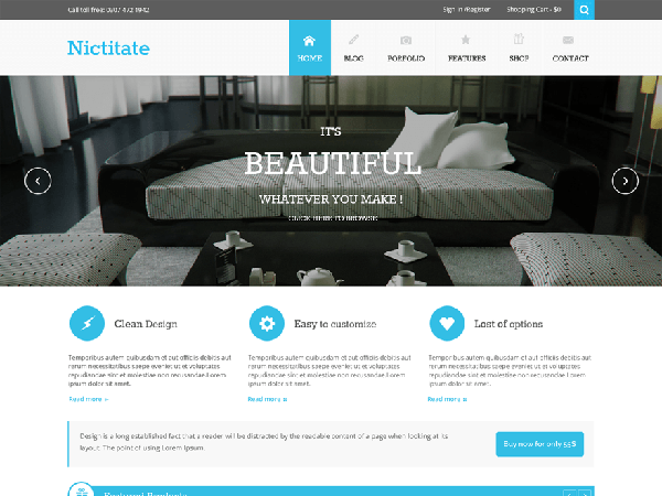 Tema WordPress Bisnis corporate portfolio template wordpress download