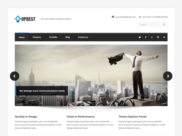 Theme WordPress TopBest Responsive Free