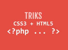 trik php css html wordpress tutorial