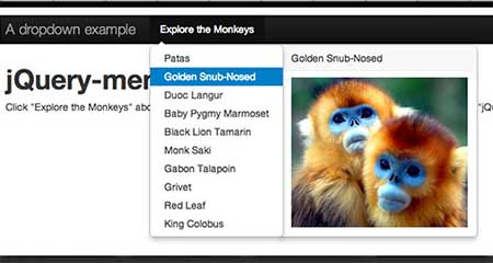 Menu AIM download plugin jQuery Terbaik