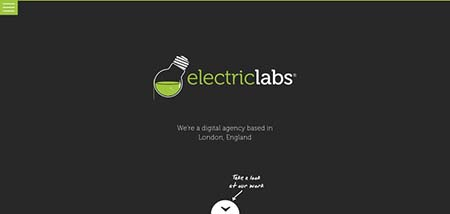 Electriclabs- web design inspiration