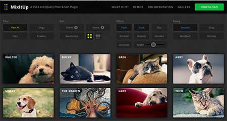mixitup download plugin jQuery Terbaik