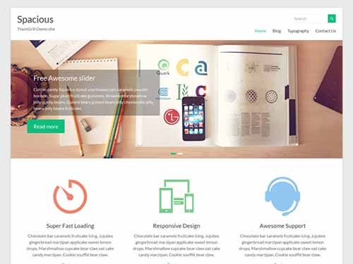spacious free responsive wordpress theme gratis wordpress