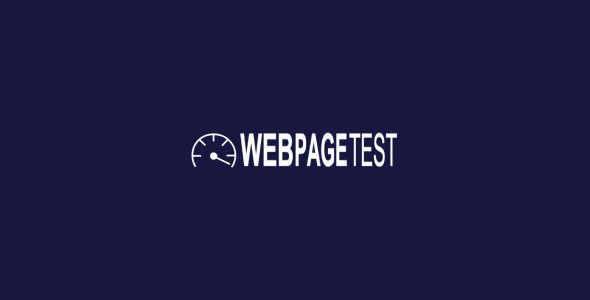 web page test website speed