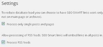 cara settings seo smart links