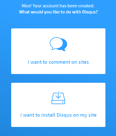 disqus wordpress comment