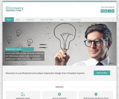 free wordpress theme discovery