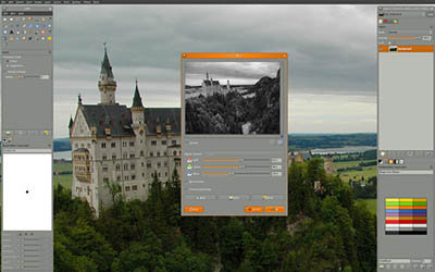 gimp software editor photo terbaik