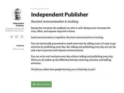 independent-publisher-free responsive