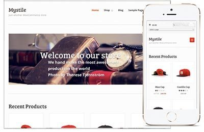 mystile ecommerce theme wordpress free