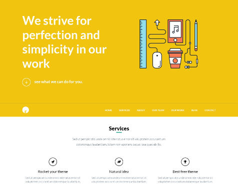 Theme wordpress best portfolio