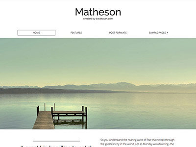 matheson-free-wordpress-theme