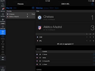thescore-ipad app