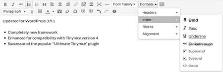 wp edit plugin tinymce