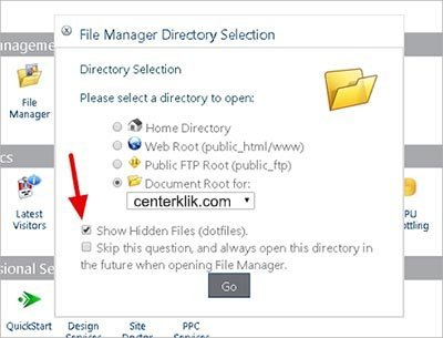 File-Manager-Directory-Selection buat file htaccess