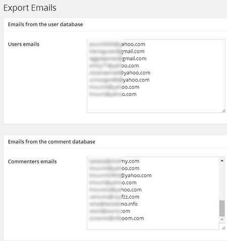 export-emails-plugin tutorials