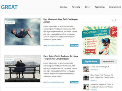 great-free-wordpress magazine blog
