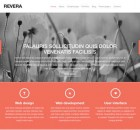 revershot theme wordpress portfolio free