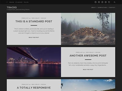 tracks-free-wordpress-theme