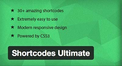 shortcodes-ultimate wordpress