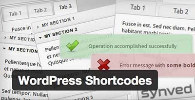 wordpress-shortcodes wordpress