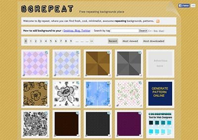 bgrepeat-background-patterns gratis