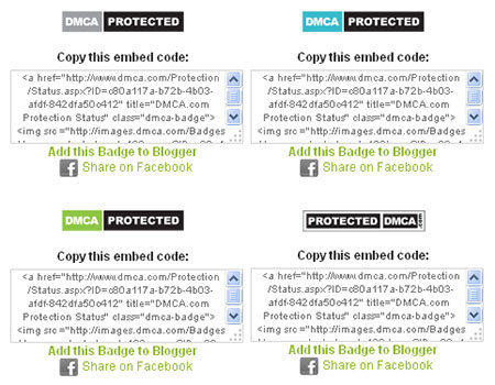 dmca protect badges