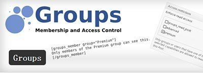 groups member plugin wordpress