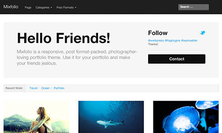 mixfolio wordpress theme free