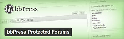 protected forums plugin