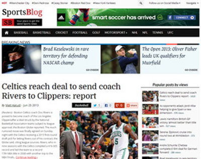theme wordpress mgazine sportblog