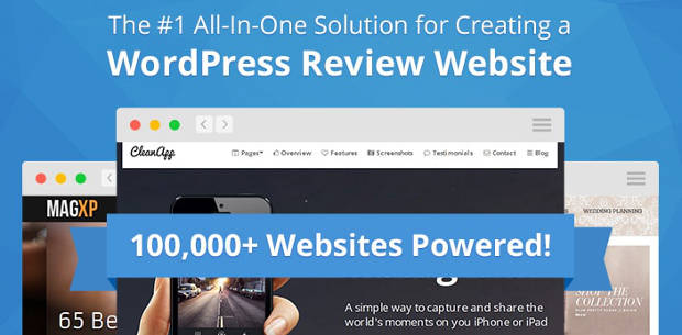 create a WP Review WordPress plugin review website