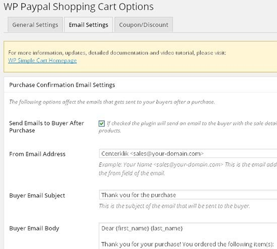 paypal shopping cart settings5