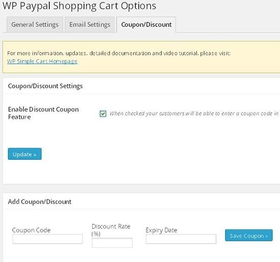 paypal shopping cart settings6