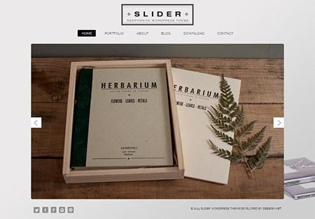 slider-free-wordpress-theme portfolio