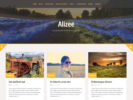 alizee download tema wordpress