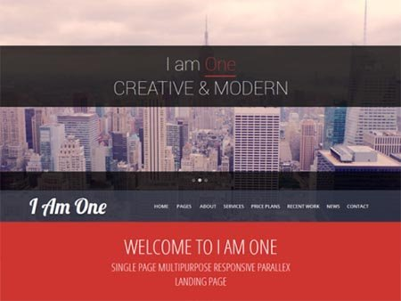 i-am-one Tema WordPress Bisnis