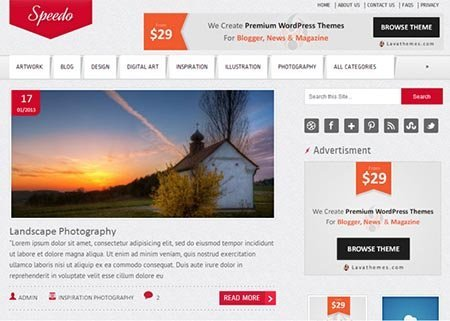 speedo-free-wordpress-theme gratis