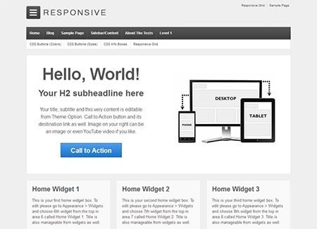 responsive-free-wordpress-theme gratis