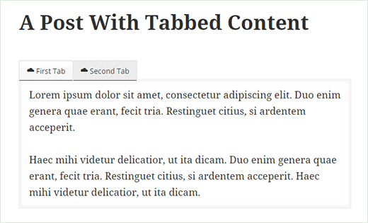 konten tab posting wordpress