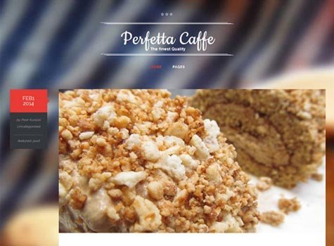 theme wordpress responsive caffe gratis