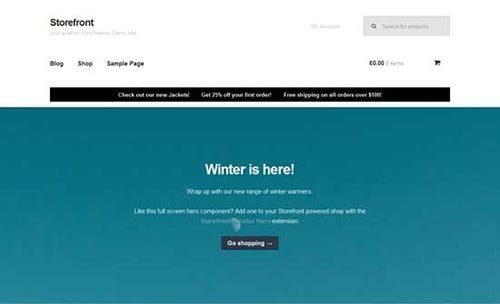 free-WordPress-theme-with-WooCommerce free