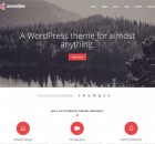 theme wordpress sensible responsive free