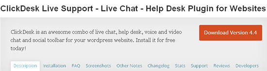 clickdesk live support live chat