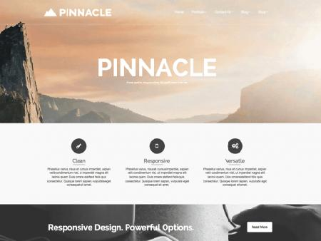 theme wordpress pinnacle responsive free