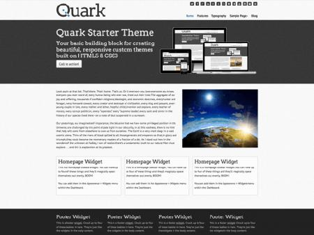 theme wordpress quark responsive free